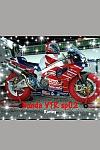 foto motocicletta da corsa