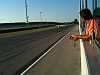foto in pista a Misano